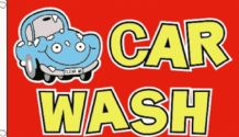 CAR WASH - 5 X 3 FLAG